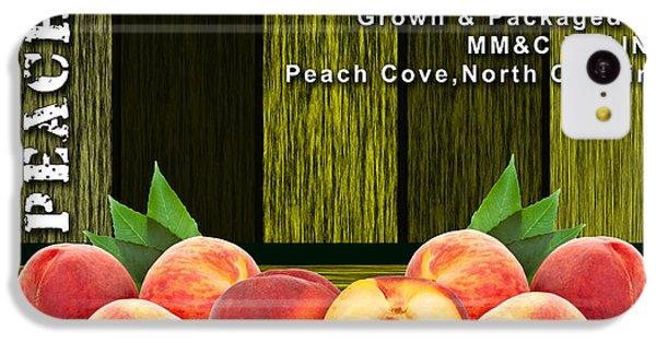 Peach Farm IPhone 5c Case by Marvin Blaine