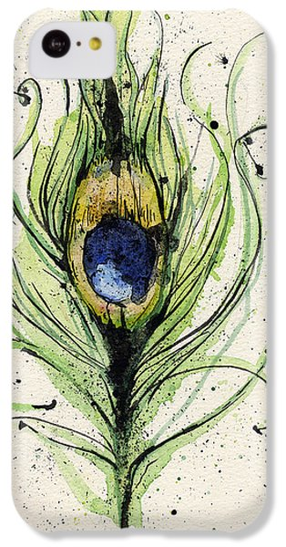 Peacock Feather IPhone 5c Case by Mark M  Mellon