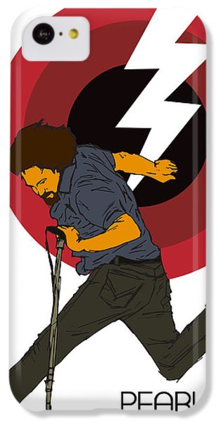 Pearl Jam Lightning Bolt IPhone 5c Case by Tomas Raul Calvo Sanchez