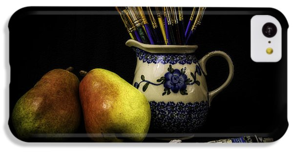 Pears And Paints Still Life IPhone 5c Case by Jon Woodhams