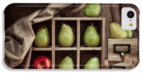 Pears On Display Still Life IPhone 5c Case by Tom Mc Nemar