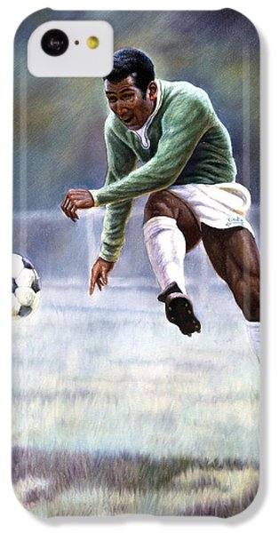 Pele IPhone 5c Case by Gregory Perillo