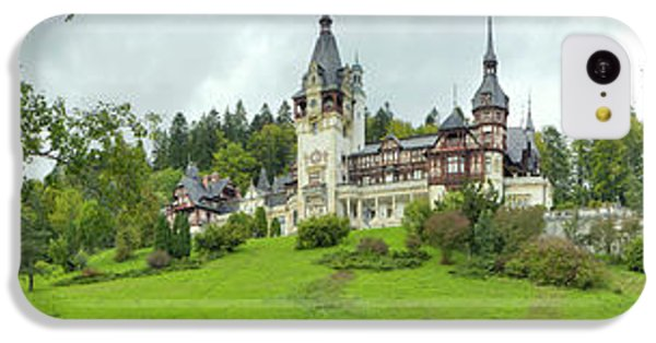 Peles Castle In The Carpathian IPhone 5c Case by Panoramic Images