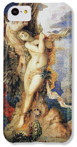 Perseus And Andromeda IPhone 5c Case by Gustave Moreau