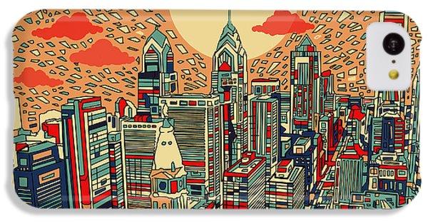 Philadelphia Dream IPhone 5c Case by Bekim Art