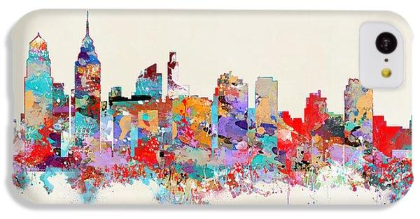 Philadelphia Skyline IPhone 5c Case by Bri B