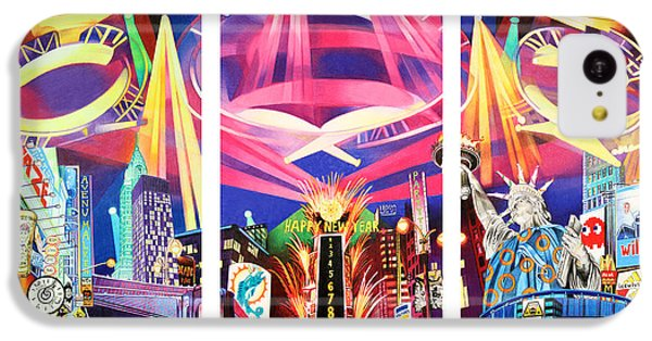 Phish New York For New Years Triptych IPhone 5c Case by Joshua Morton