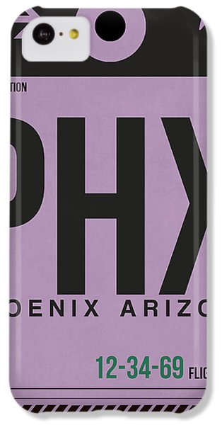 Phoenix Airport Poster 1 IPhone 5c Case by Naxart Studio