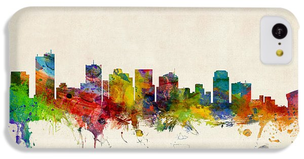 Phoenix Arizona Skyline IPhone 5c Case by Michael Tompsett