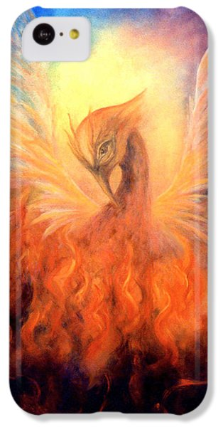 Phoenix Rising IPhone 5c Case by Marina Petro