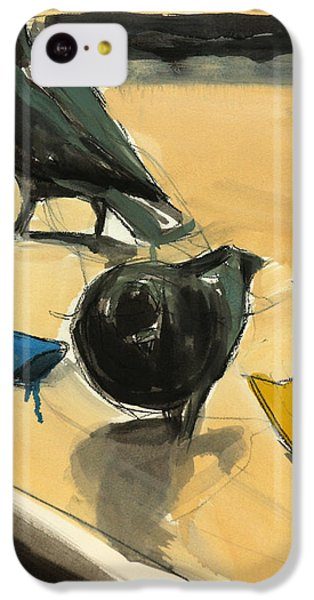 Pigeons IPhone 5c Case by Daniel Clarke