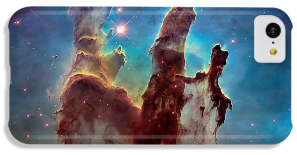 Pillars Of Creation In High Definition - Eagle Nebula IPhone 5c Case by The  Vault - Jennifer Rondinelli Reilly
