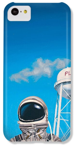 Pluto IPhone 5c Case by Scott Listfield