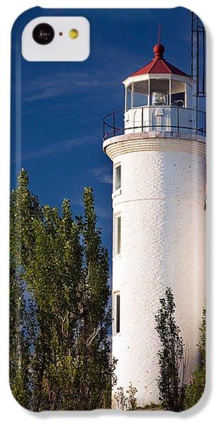 Point Betsie Lighthouse Michigan IPhone 5c Case by Adam Romanowicz