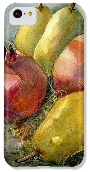 Pomegranates And Pears IPhone 5c Case by Jen Norton