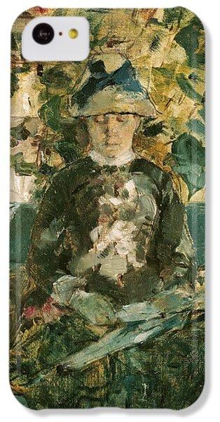Portrait Of Adele Tapie De Celeyran IPhone 5c Case by Henri de Toulouse-Lautrec
