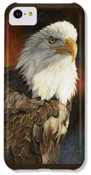 Portrait Of An Eagle IPhone 5c Case by Lucie Bilodeau