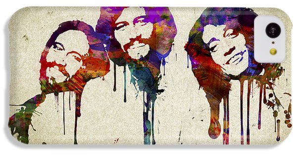 Portrait Of The Bee Gees IPhone 5c Case by Aged Pixel