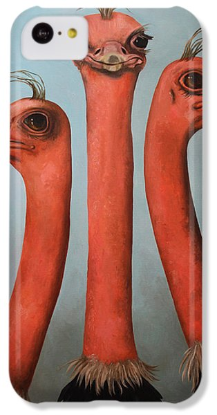 Posers 2 IPhone 5c Case by Leah Saulnier The Painting Maniac