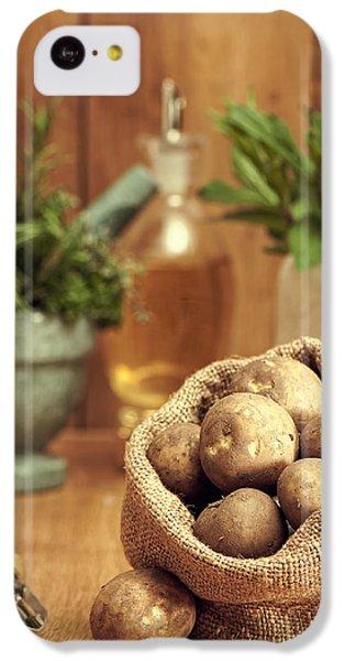 Potatoes IPhone 5c Case by Amanda Elwell