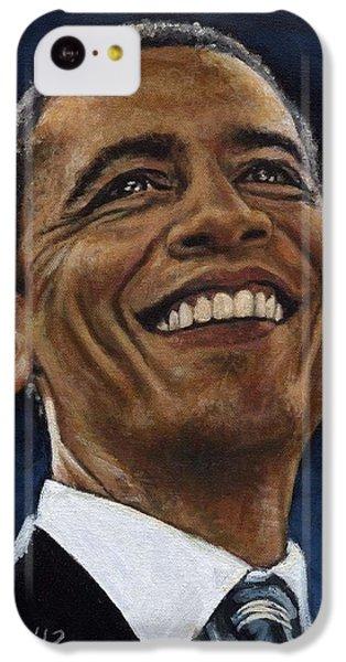President Barack Obama IPhone 5c Case by Neil Feigeles