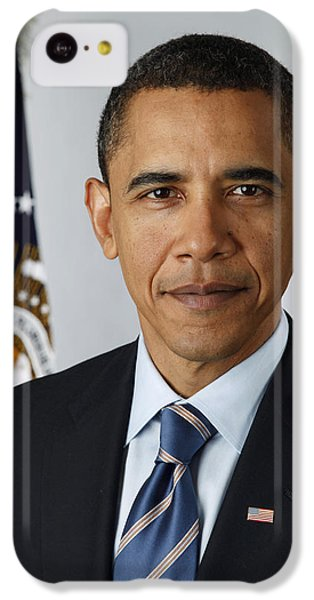 President Barack Obama IPhone 5c Case by Pete Souza