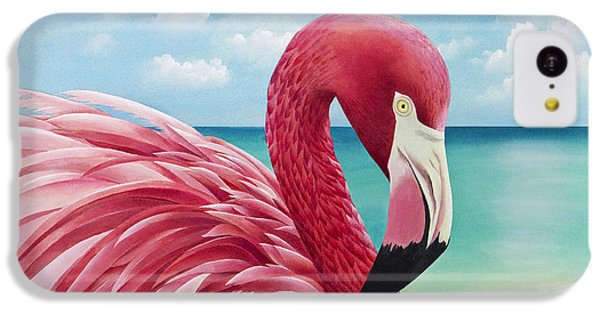 Pretty In Pink IPhone 5c Case by Carolyn Steele