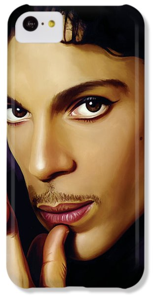 Prince Artwork IPhone 5c Case by Sheraz A