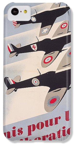 Propaganda Poster For Liberation From World War II IPhone 5c Case by Anonymous