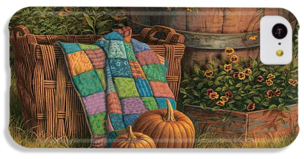Pumpkins And Patches IPhone 5c Case by Michael Humphries