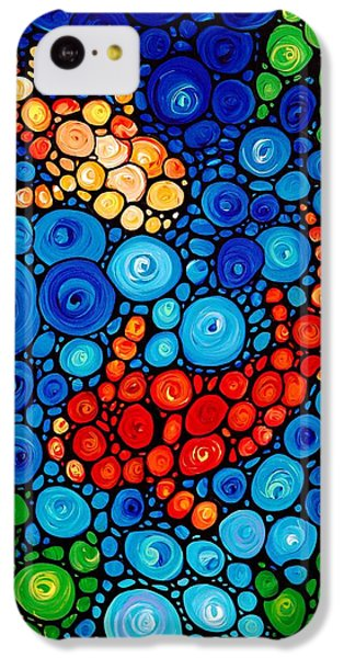Pure Koi Joi IPhone 5c Case by Sharon Cummings
