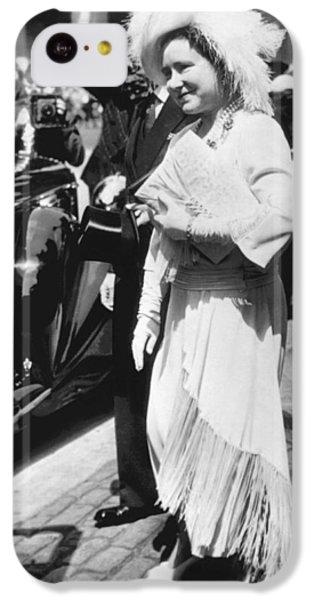 Queen Elizabeth Fashion IPhone 5c Case by Underwood Archives