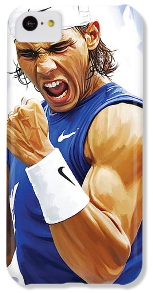 Rafael Nadal Artwork IPhone 5c Case by Sheraz A