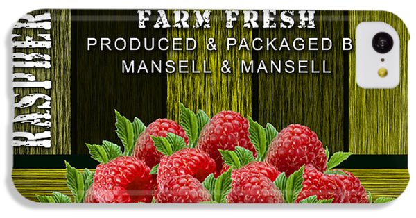 Raspberry Fields IPhone 5c Case by Marvin Blaine