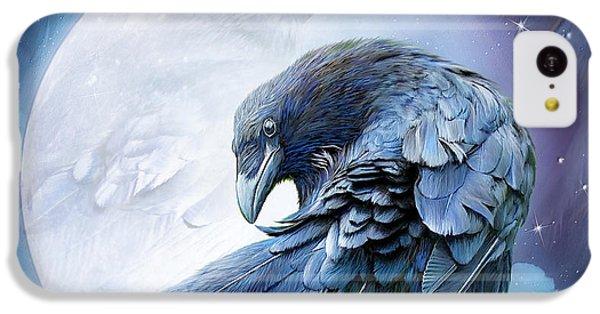 Raven Moon IPhone 5c Case by Carol Cavalaris