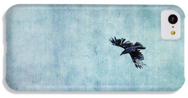 Ravens Flight IPhone 5c Case by Priska Wettstein