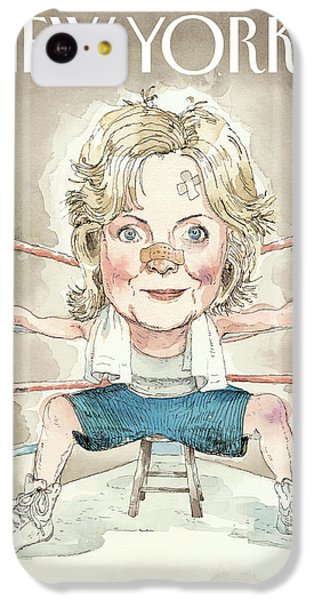 Ready For A Fight IPhone 5c Case by Barry Blitt