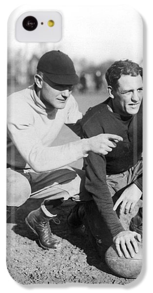 Red Grange And His Coach IPhone 5c Case by Underwood Archives