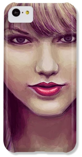 Red IPhone 5c Case by Kendra Tharaldsen-Franklin