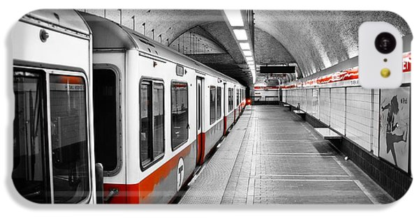 Red Line IPhone 5c Case by Charles Dobbs