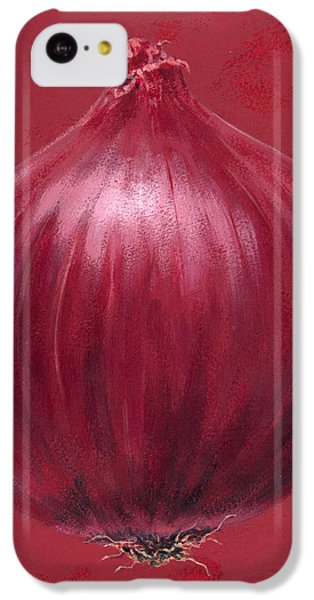 Red Onion IPhone 5c Case by Brian James