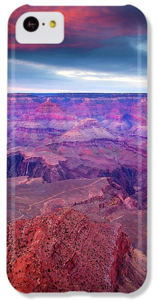 Red Rock Dusk IPhone 5c Case by Mike  Dawson