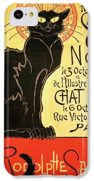 Reopening Of The Chat Noir Cabaret IPhone 5c Case by Theophile Alexandre Steinlen