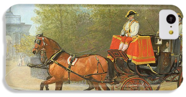 Returning From Her Majestys Drawing Room IPhone 5c Case by Alfred Corbould