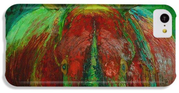 Rhinocerus IPhone 5c Case by Magdalena Walulik