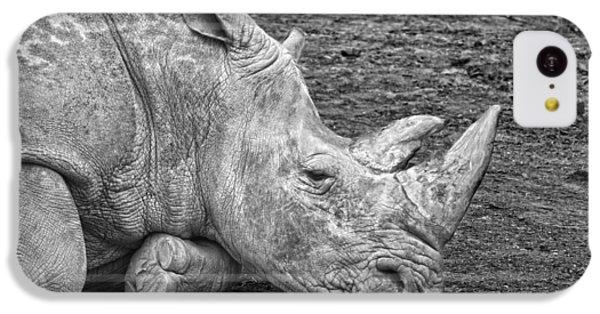 Rhinoceros IPhone 5c Case by Nancy Aurand-Humpf