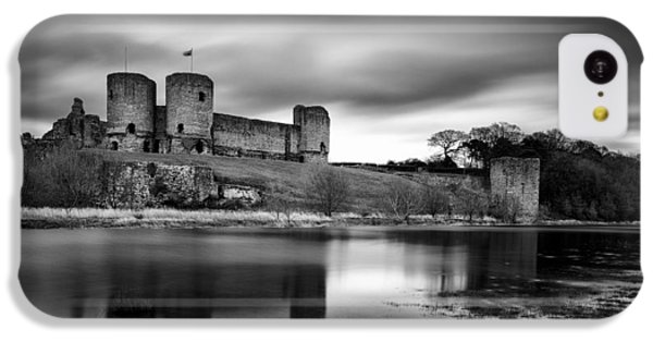 Rhuddlan Castle IPhone 5c Case by Dave Bowman