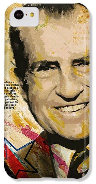 Richard Nixon IPhone 5c Case by Corporate Art Task Force