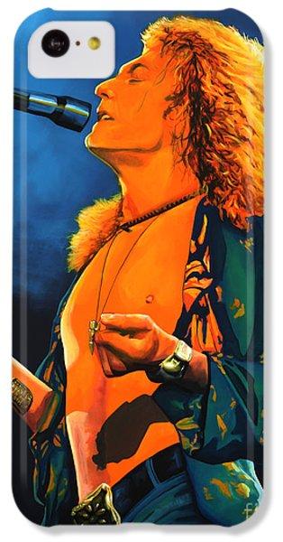Robert Plant IPhone 5c Case by Paul Meijering