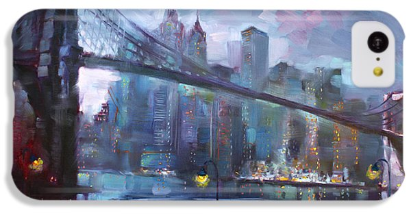 Romance By East River II IPhone 5c Case by Ylli Haruni